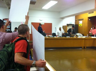 sit-in at OUSD board meeting | by Contra Costa Times