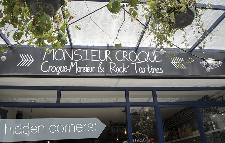 Hidden Corners Monsieur Croque Condesa Review