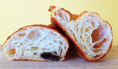Pain au Chocolat and Croissant from Patisserie Pistache | by Adam Kuban
