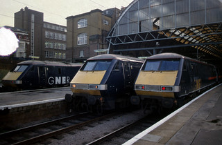 GNER Class 91's @ Kings Cross | by markkirk85