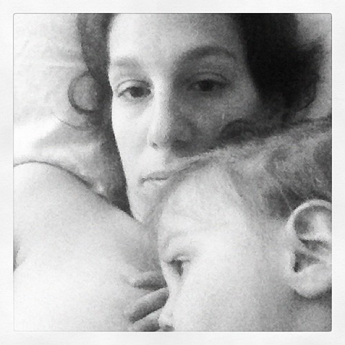 Nursing while mommy recovers | by er.gebhardt