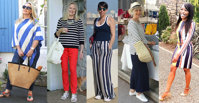 Fashion bloggers in stripes #iwillwearwhatilike