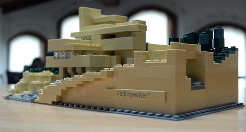 Fallingwater architecture lego kit 21005 lego kit 21005 f flickr - Lego falling waters ...