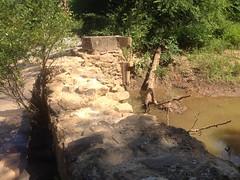 Cochran Mill Dam Ruins