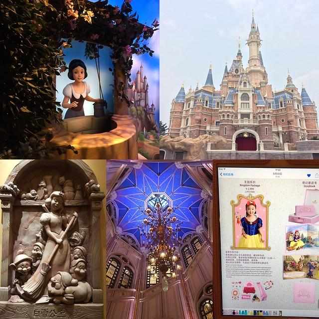 上海迪士尼樂園城堡
