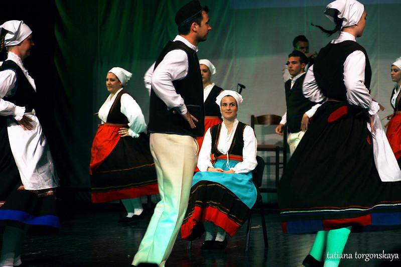 """Танец членов KUD """"Rakalj"""""""