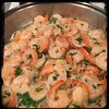 #Ginger #Cilantro #Shrimp #homemade #CucinaDelloZio - cook shrimp in 1 tbsp coconut oil