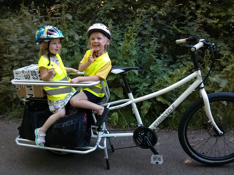 Ultimate Cargo Bike Edgerunner Alfine 11 Kitted Out For The