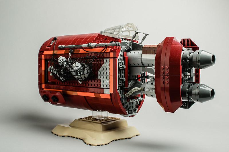 Rey Speeder MOC