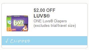 Luvs Big Pack Diapers