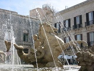 Siracusa Fontana di Artemide