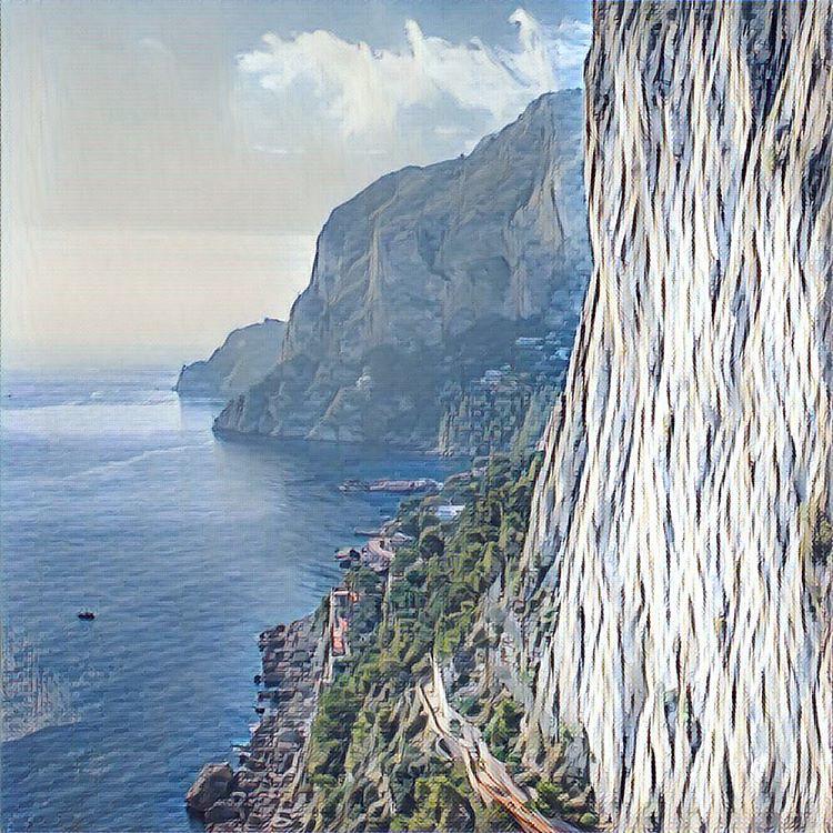 Капри #италия #капри #italy #capry #my_love_italy #prisma #instaprisma #prismaart #prismaru #prisma.photo