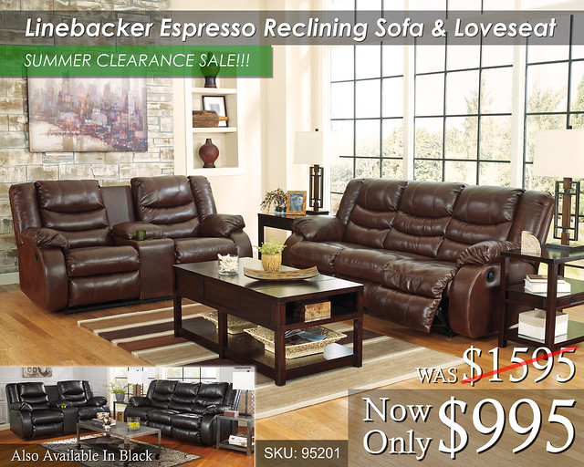 Linebacker Espresso Summer Clearance Sale