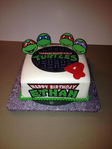 ninja turtle birthday  cake lady wpb  Flickr