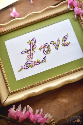 Embroidered: Love | by Simply Vintagegirl