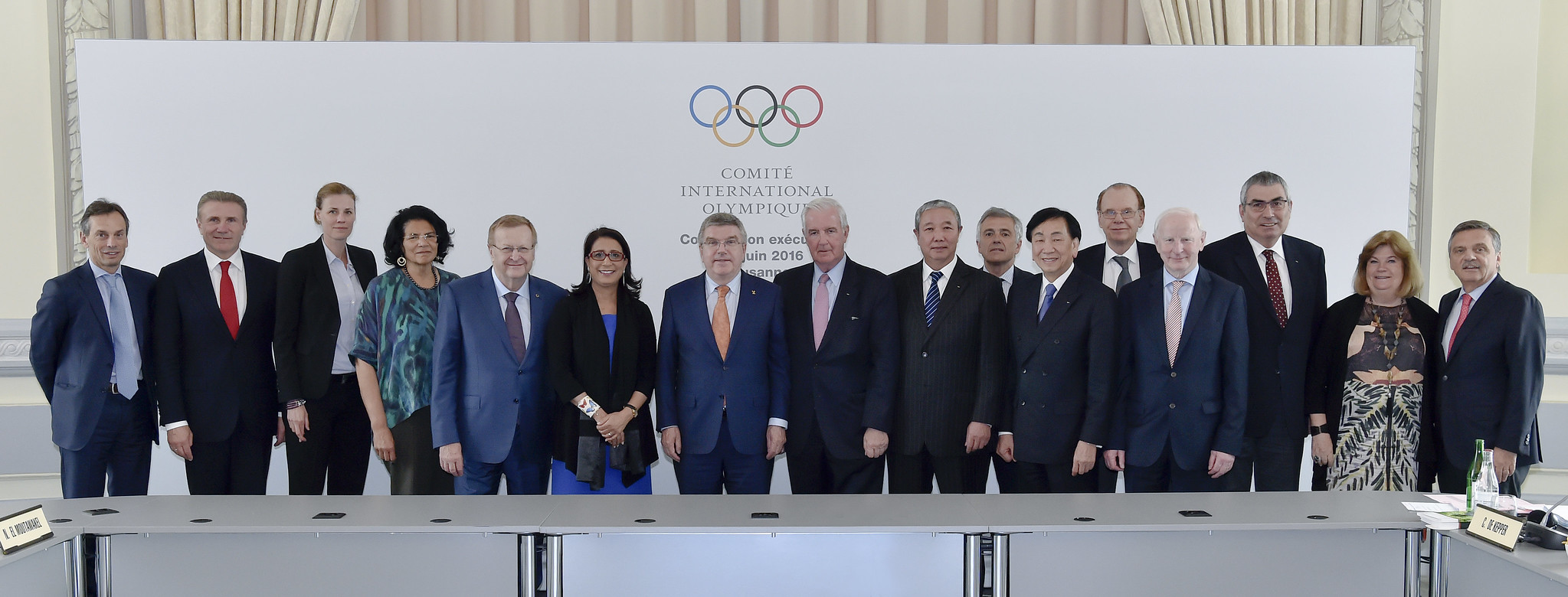 IOC Executive Board Meeting Lausanne - June 2016