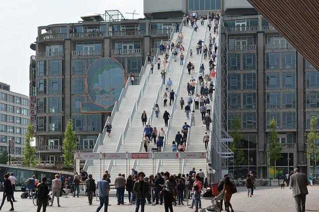 De Trap Groothandelsgebouw Rotterdam
