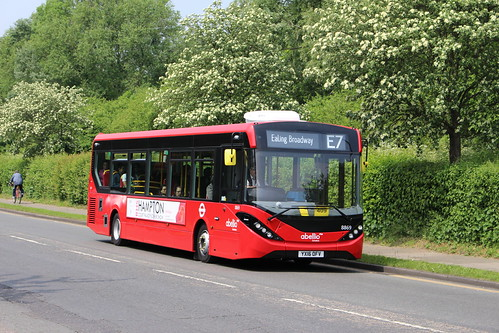 First Day of: Abellio on Route E7