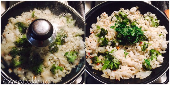 Broccoli Poha Recipe for Babies, Toddlers and Kids - step 5