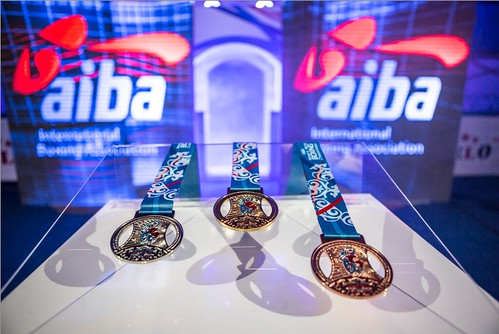 #AIBAstana2016 - Semi-Finals Marlen ESPARZA vs Yuyan WANG