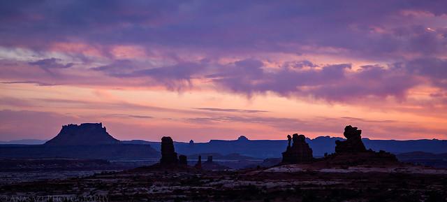 Land of Standing Rocks Dawn