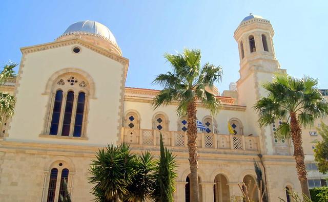 Кафедральный собор Айя-Напа, Вид сбоку, Лимассол, Кипр