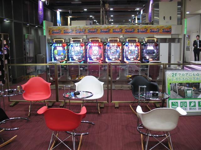 Smoking Area, Igraonica u Tokyu,