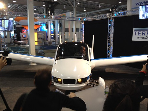 The Terrafugia Flying Car @ the 2012 New York Internatioanl Auto Show | by lotprocars