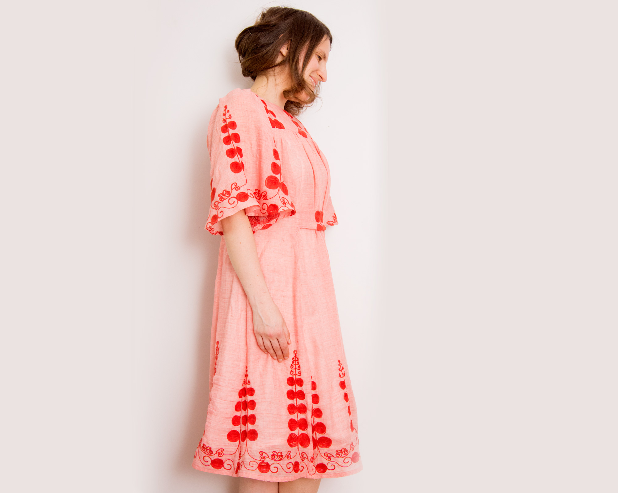 Burdastyle Frills Dress