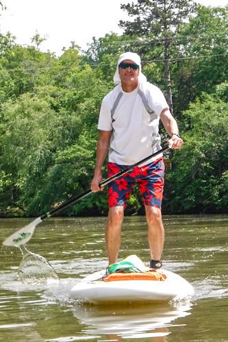 Kayaking and SUP on Saluda Lake-24