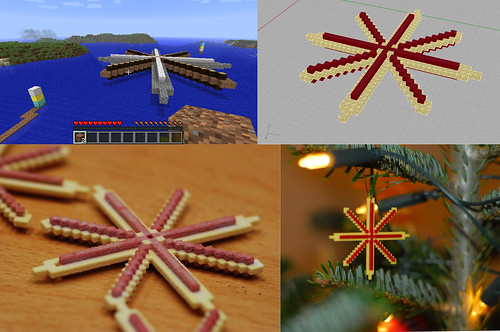 Designing Christmas Decoration in Minecraft | by post-apocalyptic research institute