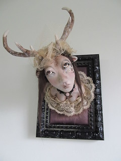 Lisbeth, deer doll | by Alexandra Soury /Cute Amalia