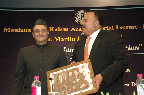 Martin Luther King III at Maulana Abdul Kalam Memorial Lecture | by U.S. Embassy New Delhi
