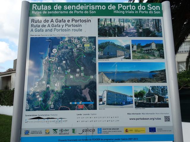 Panel Informativo Ruta de A Gafa e Portosín