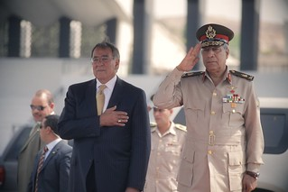 Leon Panetta and General Rouini | by maly.broadcast