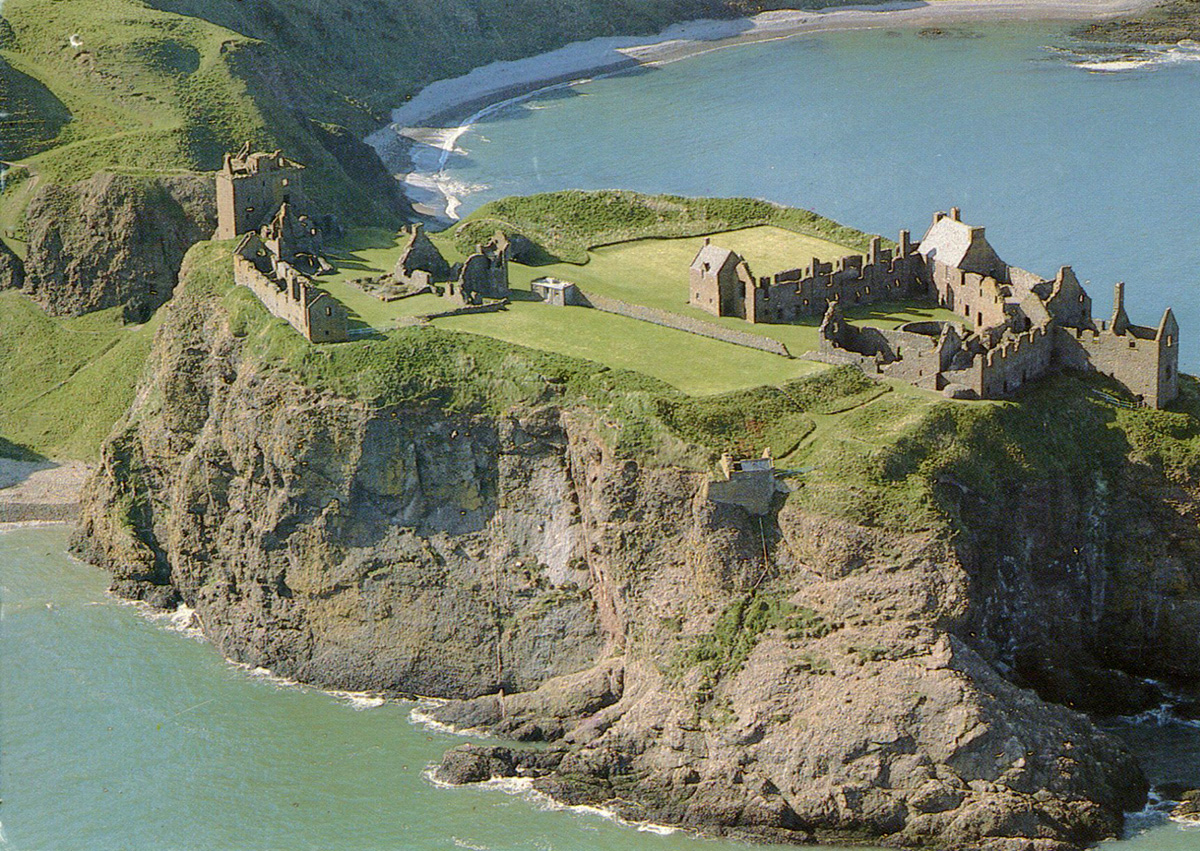 Dunnottar Castle from Air (Postcard)