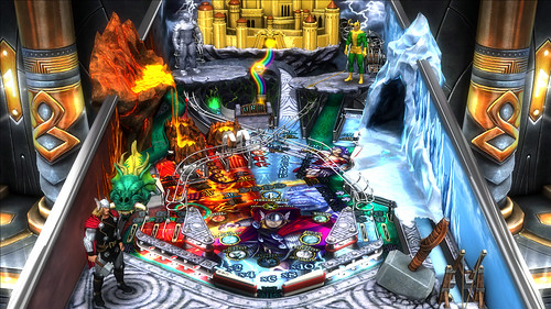 Marvel Pinball: Vengeance and Virtue: Thor table | by PlayStation.Blog