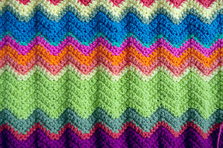Crochet Chevron Pattern | by postcardgraffiti