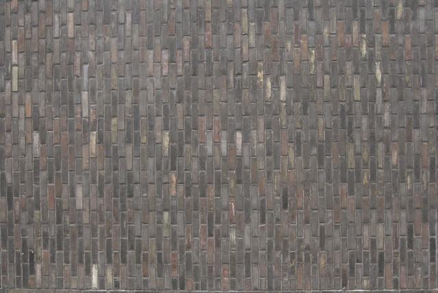 Vertical brickwork, Forth Valley College, Stirling