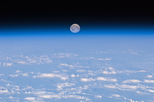 Full Moon Over Earth (NASA, International Space Station, 11/11/10) | by NASA's Marshall Space Flight Center