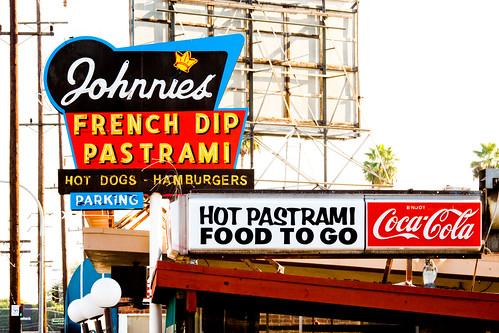 Johnnie S Pastrami Restaurant Sepulveda Boulevard Culver City Ca