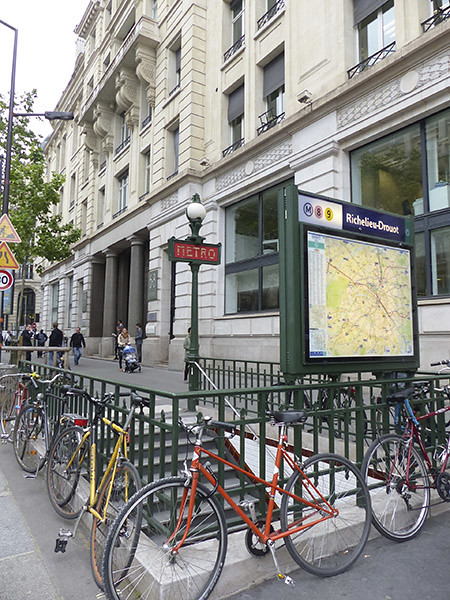 métro richelieu drouot