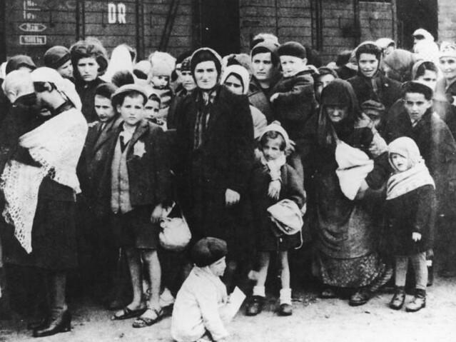 arrival at Birkenau (summer 1944)