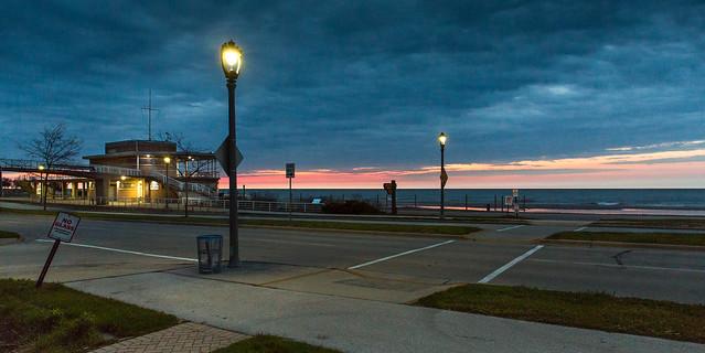 Dawn at Bradford Beach