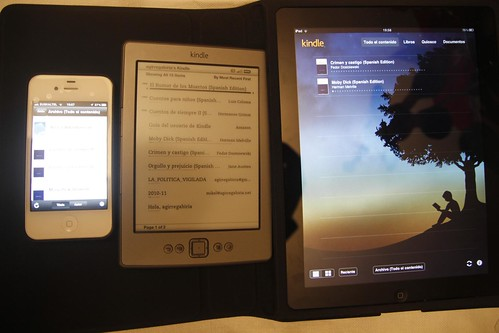 Amazon Kindle & iPad & iPhone | by agirregabiria