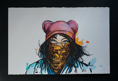 Alice Pasquini - 'Revolution (Mickey Me)' 1/10 | by Romany WG