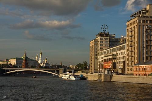 Ликвидировано пятно в реке на севере столицы