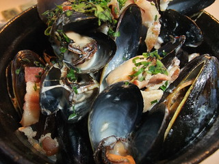 Prince Edward Island Mussels @ Spagio | by swampkitty