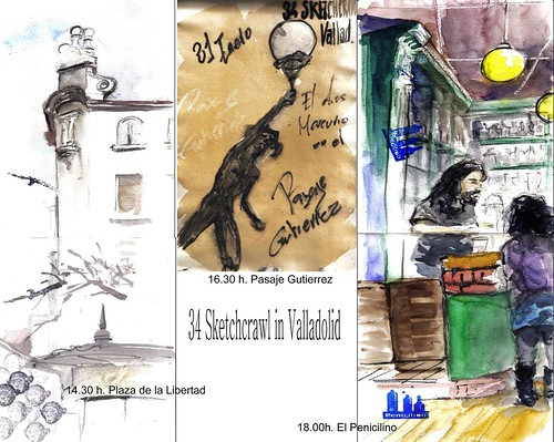 34 Sketchcrawl in Valladolid | by Félix Tamayo