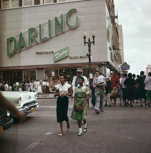 Street in Houston 1956 | by Stockholm Transport Museum Commons